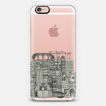 dystopian toile transparent iPhone 6s case by Sharon Turner   Casetify