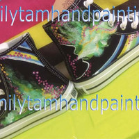 Custom Converse Sneakers,Custom Converse, Fashion Shoes, Special Gifts for Boys and Girls