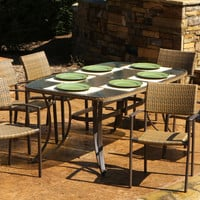 Tortuga Outdoor Maracay 7 pc Dining Set