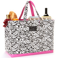 Black French Twist 15'' Tote