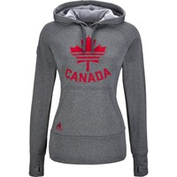adidas Canada Olympic Ultimate Fleece Pullover Hoody Womens - SportChek.ca