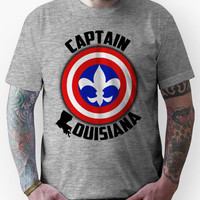 Captain Louisiana - Fleur de Lis Unisex T-Shirt