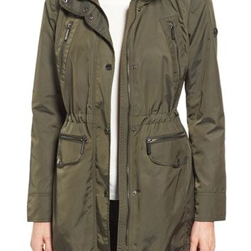 MICHAEL Michael Kors Hooded Anorak (Regular & Petite) | Nordstrom