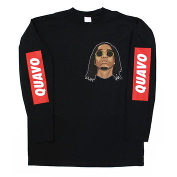 Quavo Migos Long Sleeve T Shirt
