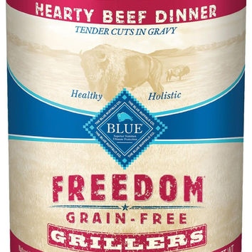 Blue Buffalo Freedom Grillers Beef Can Dog 12/12.5 oz