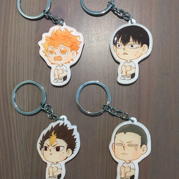 Haikyuu!! Karasuno High Key Chains