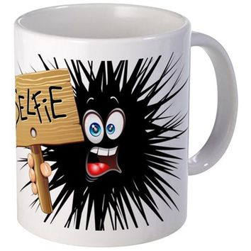 SELFIE FUN CARTOON FACE MUGS