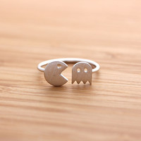 girlsluv.it - PACMAN ring, 2 colors