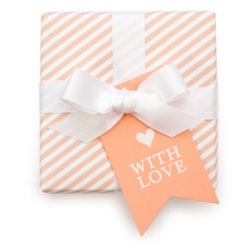 SUGAR PAPER WITH LOVE TAG