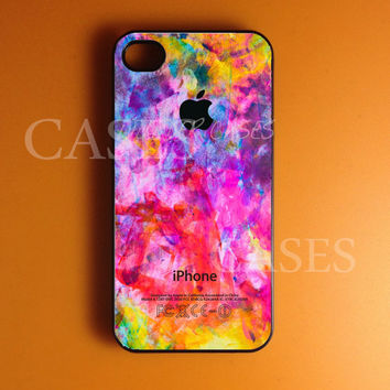 Iphone 4 Case, Colorful Apple Iphone 4s Case Cover, Best Designer Iphone Cases, Snap On Rubber or Hard Plastic Case