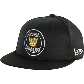 Tupac Men's  Crown Patch Baseball Cap Black