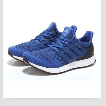 """Adidas"" Trending Fashion Casual Sports Shoes Blue"