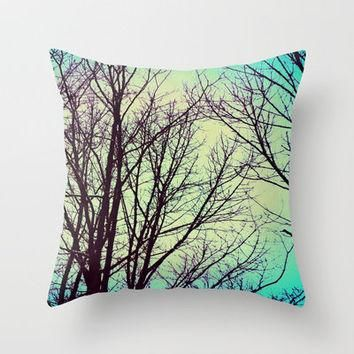 Soar Throw Pillow by Erin Jordan | Society6