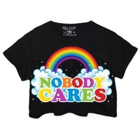 Killstar | Nobody Cares Crop Top