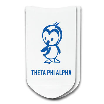 Theta Phi Alpha - Sorority Icon No-Show Socks