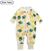 The new arrival 2017 Spring Autumn baby girls cute baby jumpsuit Cotton girls Boys Clothing Sets Newborn Overalls SR125