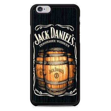 Jack Daniels On Black Wood 2 iPhone 6/6S Case