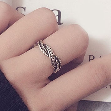 Alloy Wave Ring
