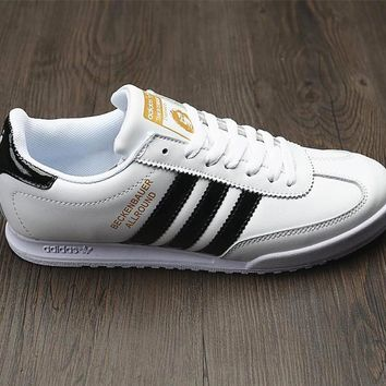 Adidas Beckenbauer Allround Leather Sport Shoes Sneakers-1