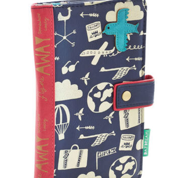 Travel Ticket to Glide Travel Wallet by ModCloth