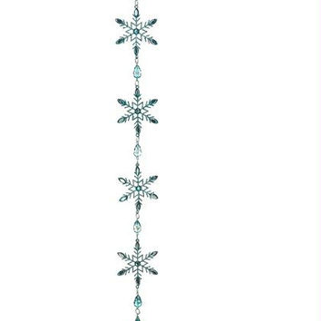 Christmas Ornament - Blue Crystal