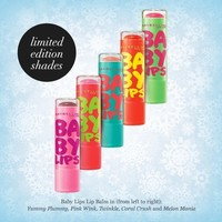 Maybelline Baby Lips Lip Balm CORAL CRUSH,TWINKLE,PINK WINK, PLUM ★*YOU CHOOSE*★