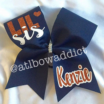 LIL SIS Cheer Bow - Pick your colors!