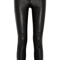 Givenchy - Black leather pants