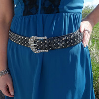The Hipster by Miss Me - Black Miss Me Belt