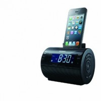 Sony ICFC11IP Lightning iPhone/iPod Clock Radio Speaker Dock (Black) (Discontinued by Manufacturer)