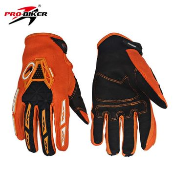 PRO-BIKER Motorcycle Full Finger Gloves Men Women Dirt Bike Cycling MTB Bicycle Gloves Luvas Motocross Off-Road Racing Gloves