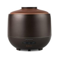 Purple Clay (Puzhen Sha) Ultrasonic Essential Oil Aromatherapy Diffuser with LED Lighting and Bluetooth