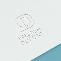 Professional Logo Design - Custom Business Brand - Graphic Design Service * Luxe Business, Monogram, Modern *