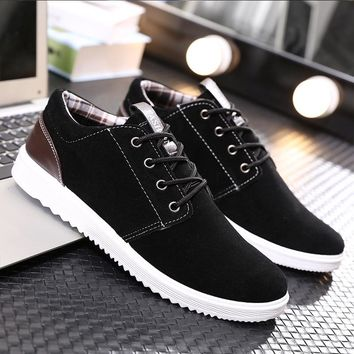 2018 Men's Shoes Spring And Autumn Men 's Casual Shoes sneakers Leisure Winter Plush For Men Shoes Plus Brish Fashion Trend