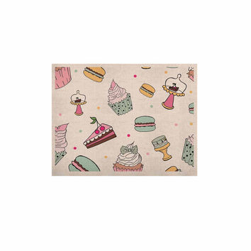 """Louise """"Sweet Sweet Cake"""" Pastel Food KESS Naturals Canvas (Frame not Included)"""