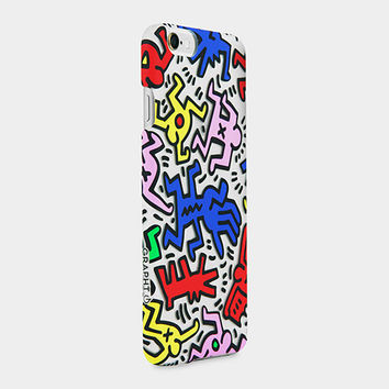 Keith Haring iPhone 6 Case Chaos, Clear | MoMA