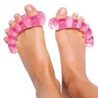 Original YogaToes - Extra Small Pink: Toe Stretcher & Separator. Fight Bunions, Hammer Toes, Foot Pain & More!:Amazon:Health & Personal Care