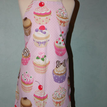 6 pack Kids Cupcake Aprons - perfect for Cupcake Decorating Party
