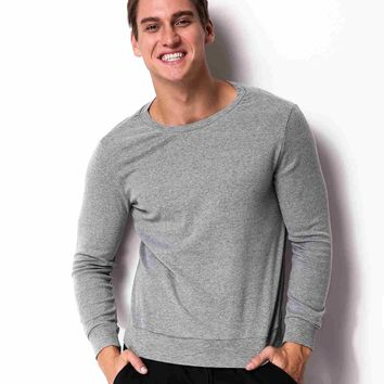 Spring Fashion Hoodies Men Casual Jumper Top Mens Knitted Pullover Tracksuit Male Round Neck Sweatshirt Sportswear Plus Size 4XL