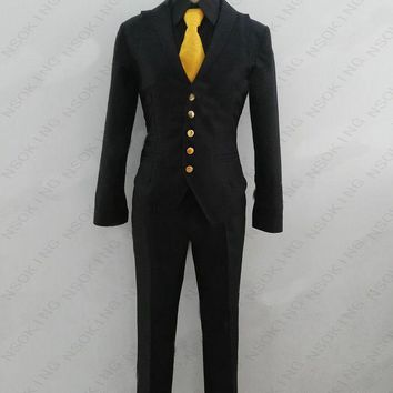 Boku no hero academia Kaminari Denki school uniform Cosplay My Hero Academia Costume Custom made