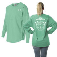 Kappa Delta Game Day Crest Jersey