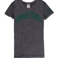 Michigan State University Scoopneck Tee - PINK - Victoria's Secret