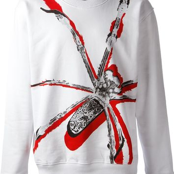 Mcq By Alexander Mcqueen Spider Print Sweater