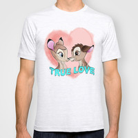 Bambi and Faline T-shirt by Sara Eshak