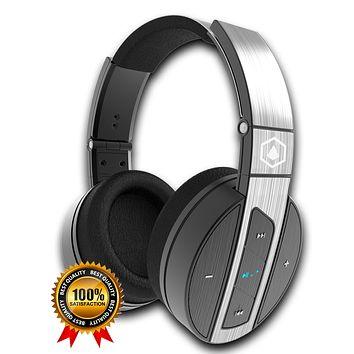 PRE-ORDER - Back in Stock (03-25-2018) HIFI ELITE Super66, Worlds #1 Best Value Portable, Wireless, Over Ear, Bluetooth Headphones.   Premium Audio, Rich Bass, Noise-Isolating, Built-In Microphone, Long Battery Life, Wired Option and More!
