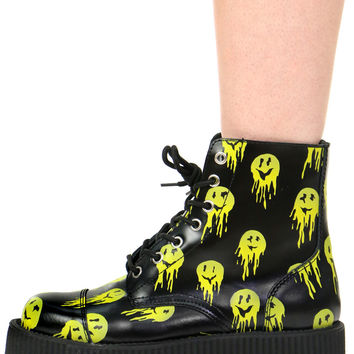 DRIPPY SMILE CREEPER BOOTS