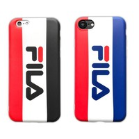 FILA Simple letter of the night light 7 iphone 7 smartphone shell 6s apple plus full p