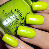 China Glaze Trip of a Lime Time Nail Polish (Road Trip Collection)