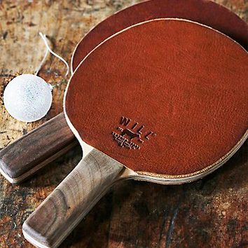 Will Leather Goods Womens Leather Ping Pong Paddle