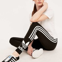 adidas Originals Three Stripe Leggings - Urban Outfitters